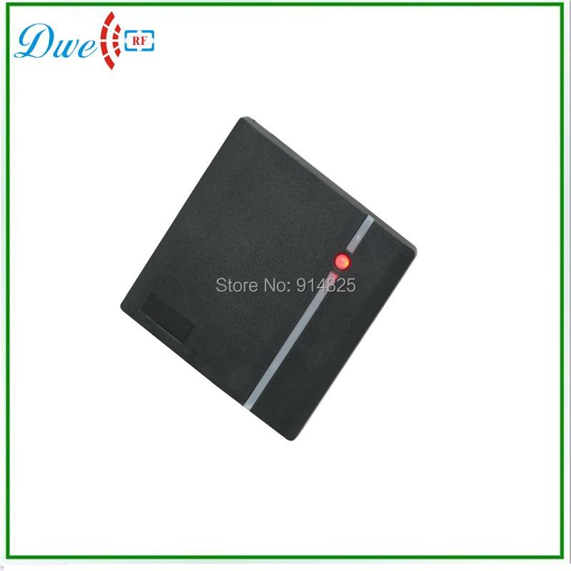 DWE CC RF top selling 125khz id wiegand 26 bits  waterproof access control card reader dwe cc rf 125khz wiegand ip65 keypad passport reader for access control