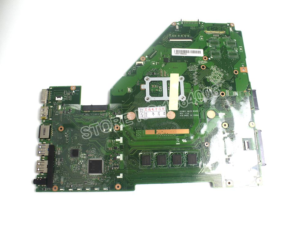 Original laptop Laptop font b motherboard b font FOR ASUS X550CA X550CC mainboard with 2117CPU DDR3