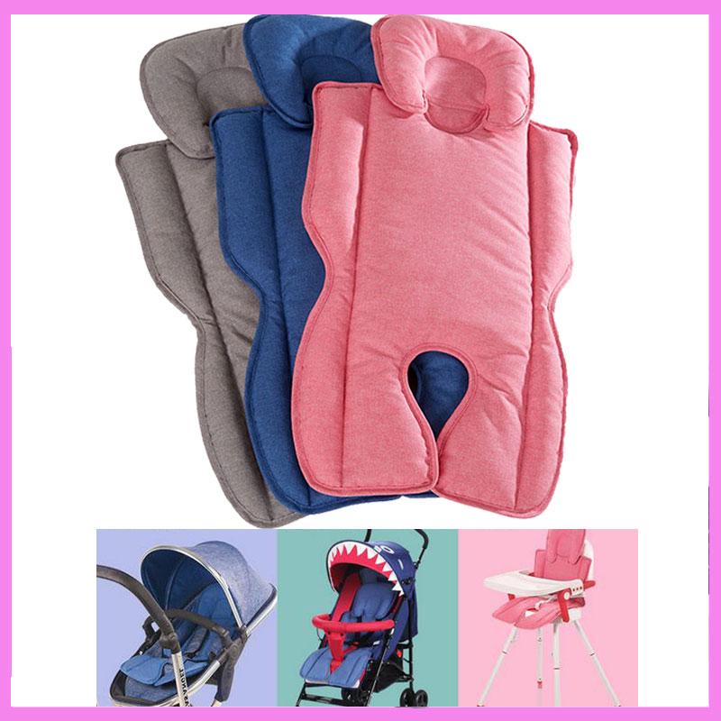 Baby Stroller Pushchair Car Seat Cotton Pad Winter Warm Cushion Waterproof Umbrella Pram Liner Mat Head Body Support Cushion