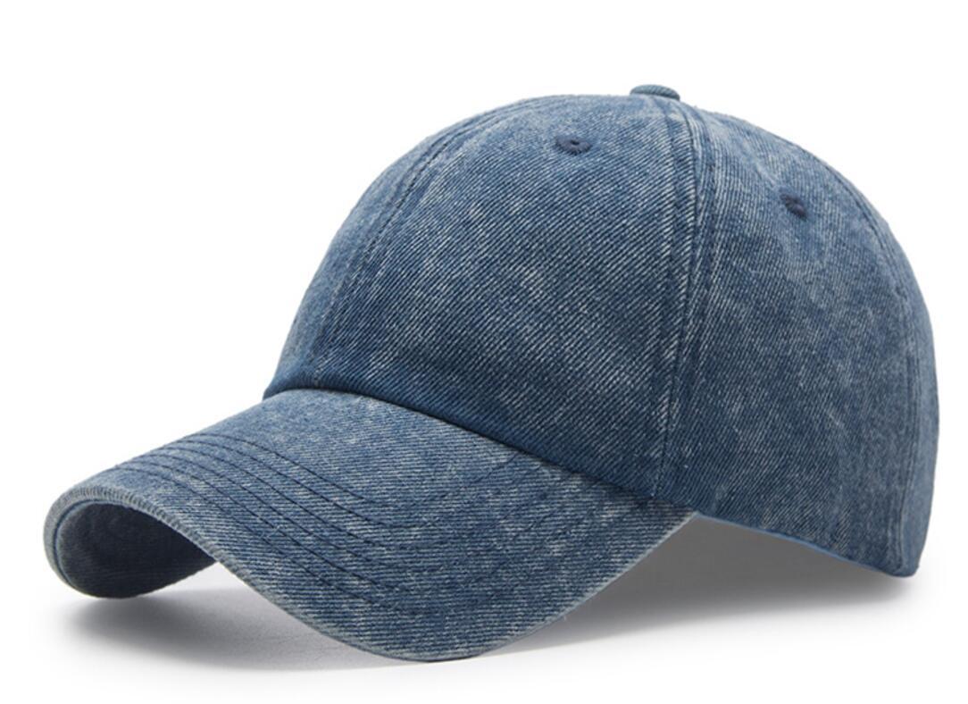 30pcs Vintage Black Washed Cotton Baseball Cap for Spring Autumn Men ... fafcbcaea6c