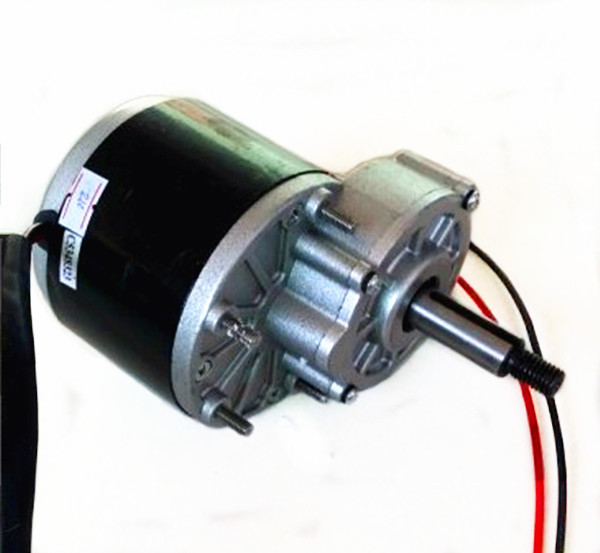 350w 36v brush motor 60mm Longer shaft, Shaft Diameter 17mm , Self balance sports scooter motor, DC gear brushed motor, MY1016Z3 ...