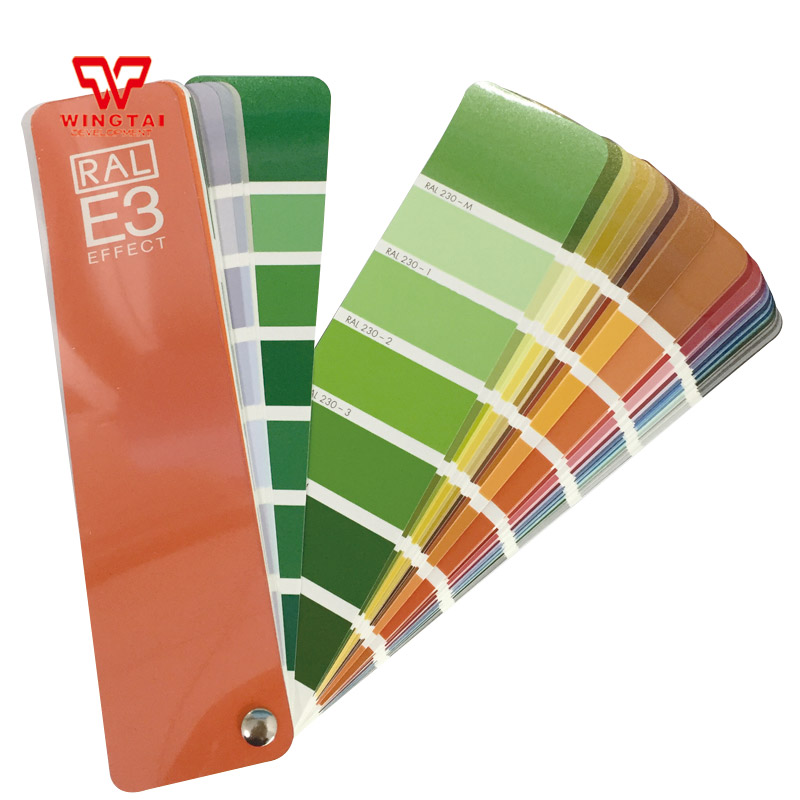 RAL E3 Effect Colour Chart Brand New E3 Solid Color / Metallic Color Card shows all the 490 RAL Effect colours. цена