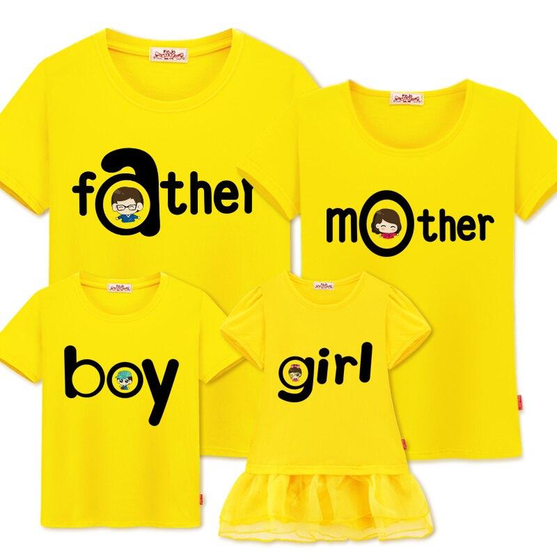 Családi illeszkedő ruhák nyári családi megjelenés megfelelő - Gyermekruházat - Fénykép 6