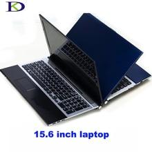 8 ГБ ОЗУ + 1000 Гб HDD Intel Pentium ноутбук 15,6 «ноутбук ПК игровой ноутбук компьютер с DVD-RW для офиса дома 1920X1080 P Win 7, 8
