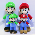1pcs Super Mario plush dolls Super Mario Soft Plush Mario Luigi mario bros plush toys Christmas birthday gifts