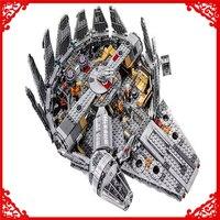 LEPIN 05007 Star Wars Force Awakens Millennium Building Block 1381Pcs DIY Educational Construction Assemble Toys For