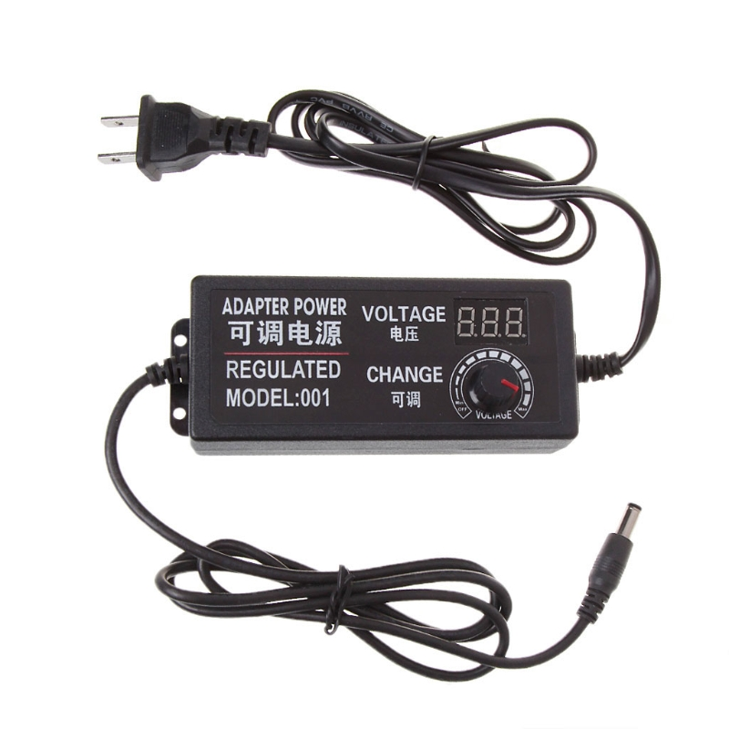 9-24V 72W Adjustable AC/DC Regulated Switch Power Supply Adapter with Display 'lirunzu donolux ac dc adapter 72w 24v