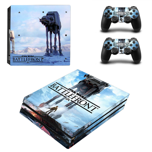 Star Wars Decal Skin Cover For Playstaion 4 Console PS4 Skin Stickers+2Pcs Controller Protective Skins For PS4 Pro Accessories 1