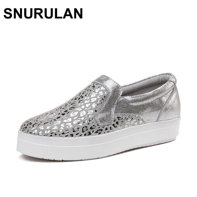 Bling Schoenen Snurulan Loafers Platform Flats Vrouwen Sneakers tsrxdhQC