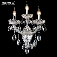 Мария Терезия настенное бра светильник малых хрустальных бра для Спальня гостиной кристалл кронштейн MD8475