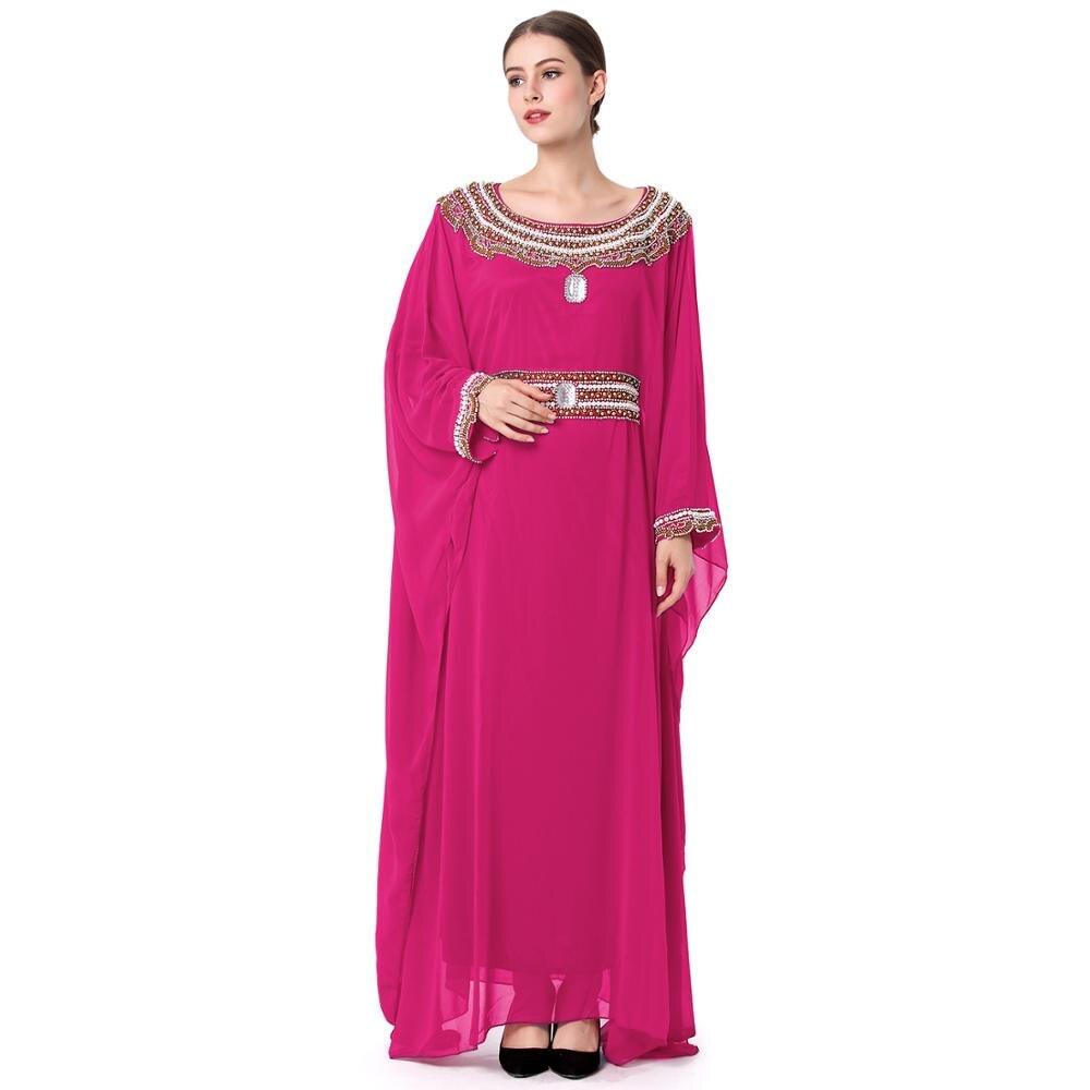 2017 moda vestido largo musulmán del abaya Turco/Pakistán/India ...