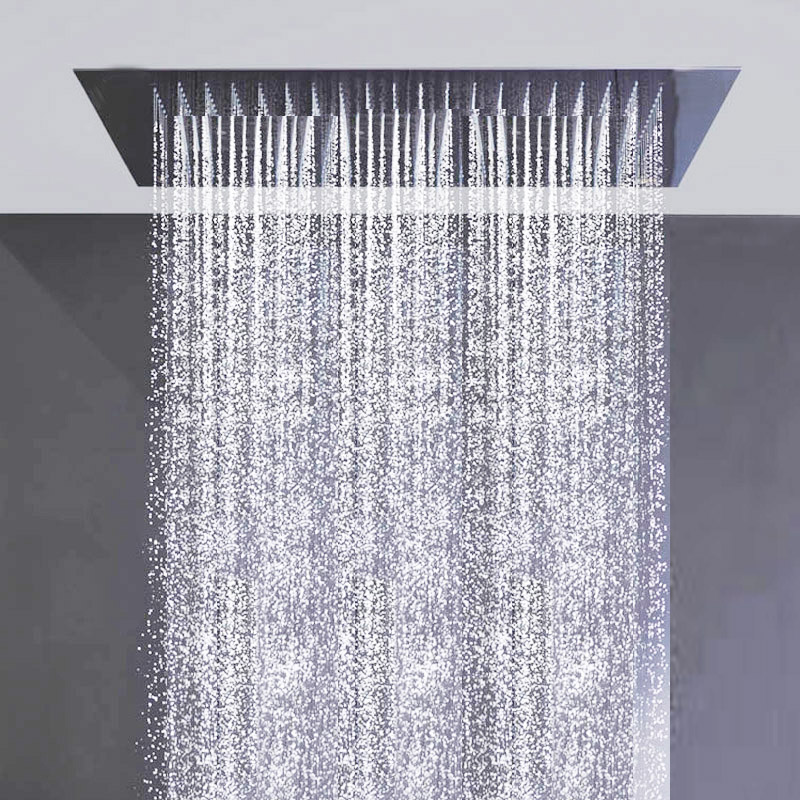 Kaiping Factory Supply 1200x600mm Shower Head Rainfall And Water Curtain Multiple Function Recessed Ceiling In Heads From Home