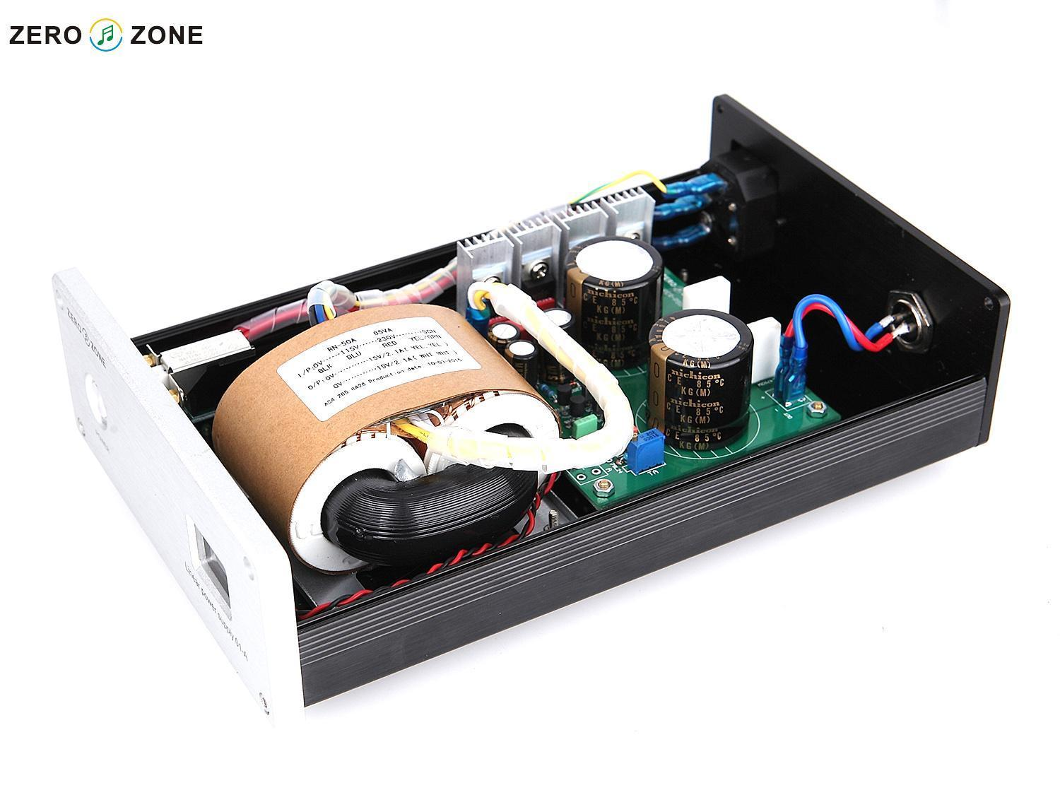 ZEROZONE Hiend S22 65VA HIFI Linear Power supply TOP LPS for preamp /DAC DC5V-36V L7-32 zerozone dc9v 3a hifi linear power supply for amp dac external psu lps