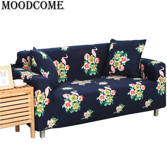 drop shipping bird Flamingo sofa cover new design 2017 colorful