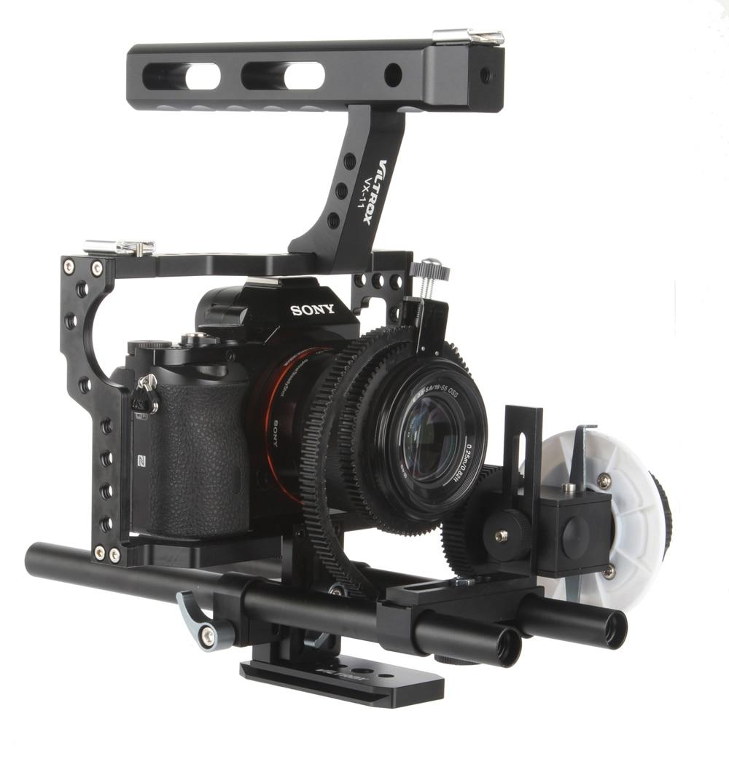 15 მმ Rod Rig DSLR ვიდეოკლიპის - კამერა და ფოტო - ფოტო 3