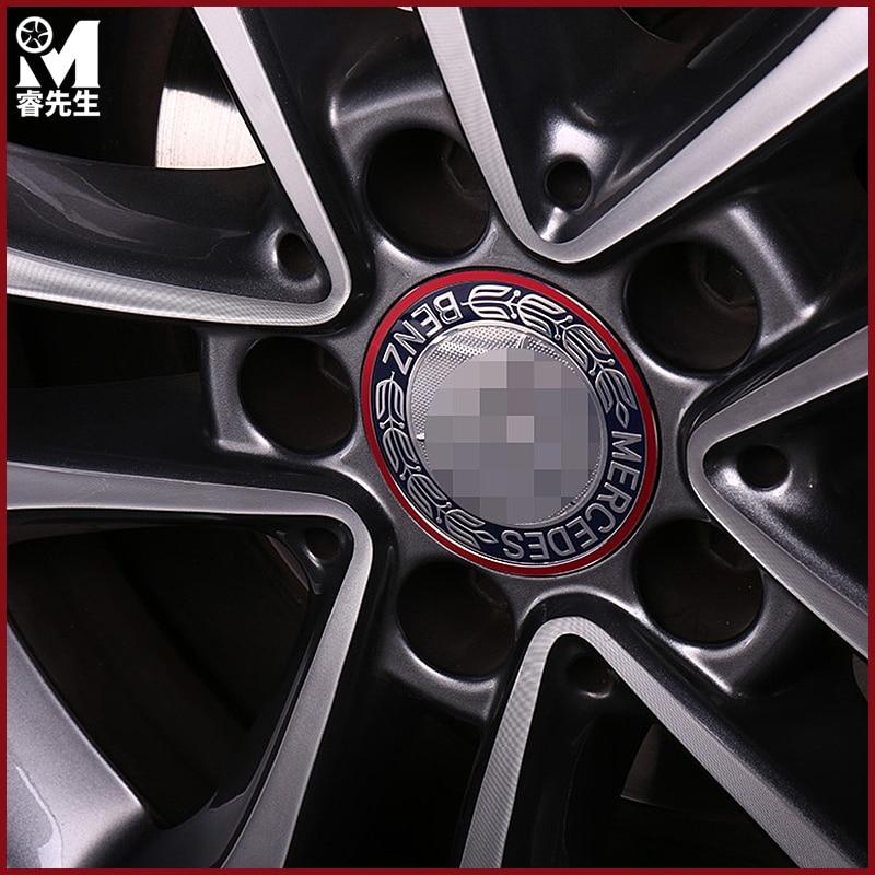 Us 2199 Auto Zubehör Rad Hub Ring Tirm Felge Für Mercedes Benz Abces Mlglclaglagleglc Klasse W204 W205 W212 X204 Amg Aufkleber In Auto