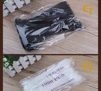ткань/одежды ярлык слинг/клей игла/Stroke пряжки/Stroke печать, пластик печать этикеток/Stroke уплотнение для одежды, белый/черный инсульта