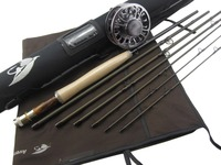 Aventik 4 5wt 8ft 6in 6 Sections With Extra Tip Section Best Travelling Fly Rod Without