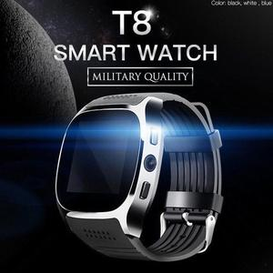Image 2 - T8 Bluetooth Smart Watch With Camera Support SIM TF Card Pedometer Men Women Call Sport Smartwatch For Android Phone PK Q18 DZ09