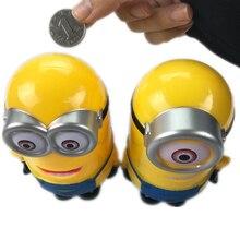 Lovely 3D Minions Figure Piggy Bank