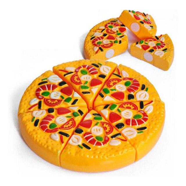 Dzieci Bawia Dom Kuchnia Zabawki Symulacja Owoce I Warzywa Pizza Cut