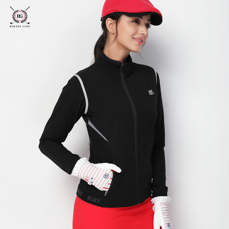 Golf Clothing Ladies Jacket Autumn and Winter Style Windproof Warm Golf Women's Windbreaker Women's Jersey pgm autumn winter waterproof men golf trousers thick keep warm windproof long pants vetements de golf pour hommes golf clothing