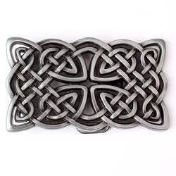 Металлическая пряжка для ремня серии Celtic подходит для ремня шириной 3,8 см