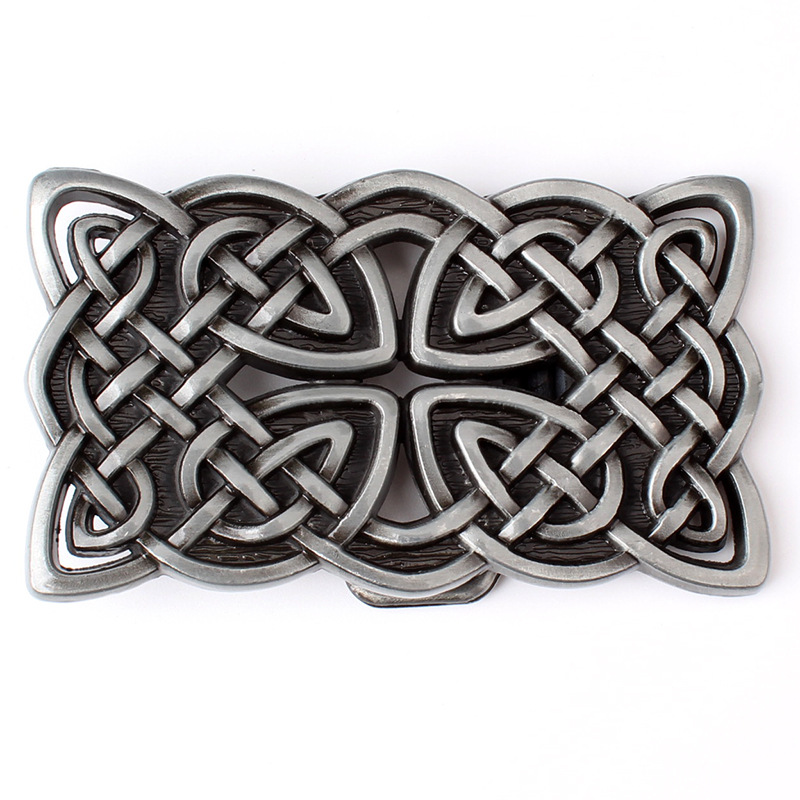 Metal Celtic Series Belt Buckle Suitable For 3.8 CM Width Of The Belt