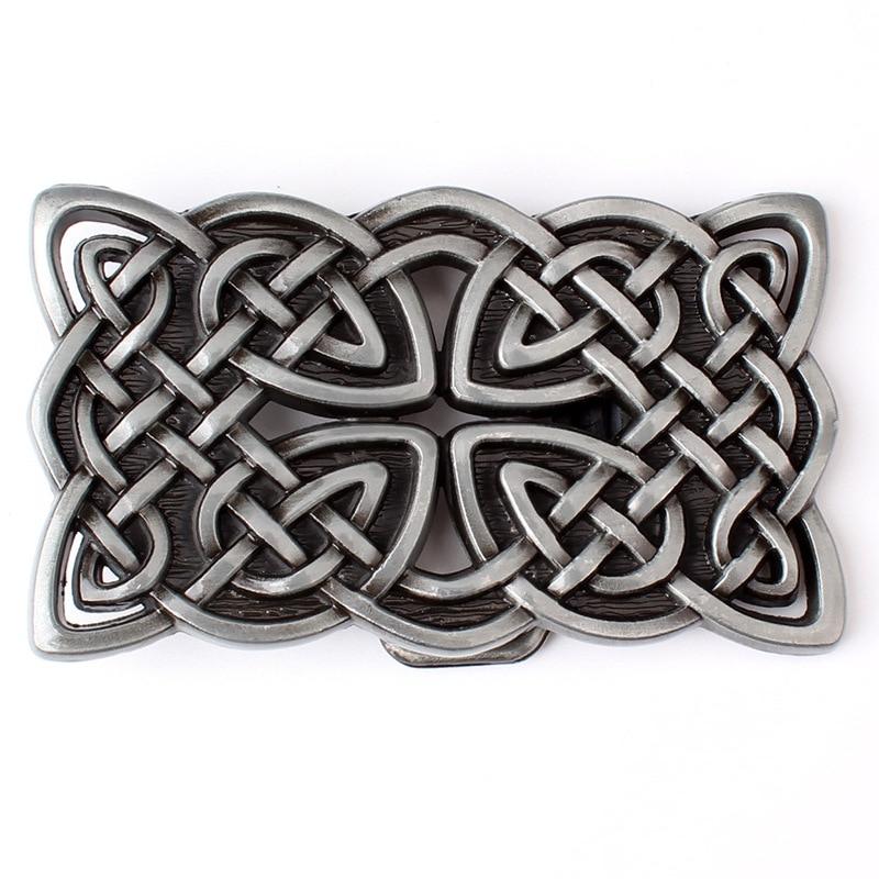 Metal Celtic Series Belt Buckle Suitable For 3.8 CM Width Of The Belt
