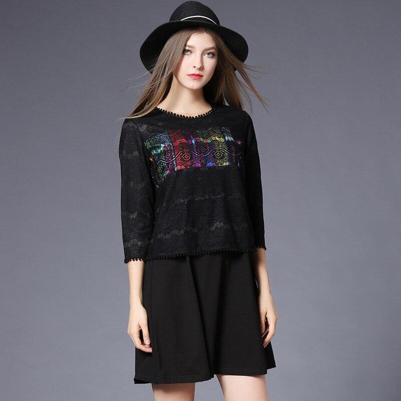 2017-ի ամռանը նոր ոճով տիկնայք MM բարակ - Կանացի հագուստ - Լուսանկար 2