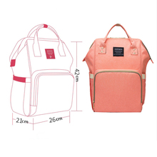 ФОТО mummy maternity nappy backpack large capacity baby nursing bag multifunction outdoor travel diaper bags for baby care