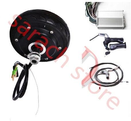 """5"""" 250W 48V brushless non-gear motor  electric wheel hub motor  electric hub motor for scooter  electric motor for bike"""