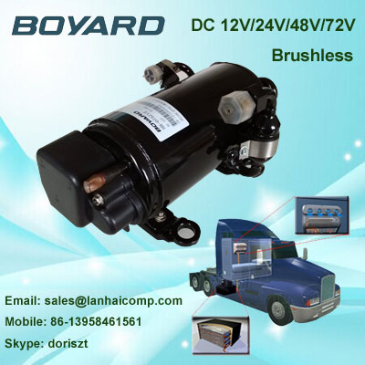 Zhejiang boyard R134A  24v dc powered air conditioner compressor HB075Z24 920w for 24 volt rv air conditioner xbox microsoft xbox one s 500 гб forza motorsport 6