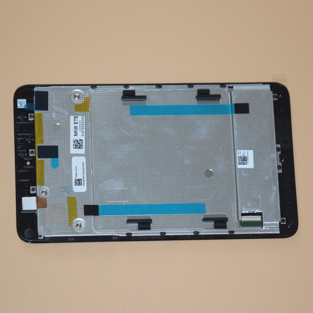 Touch Screen Digitizer Glass+LCD Display Assembly With Frame For Acer Iconia one 7 B1 750 B1 750