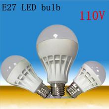 Modern High-power SMD 2835 5730 E27 led Bulb 3W 5W 7W 9W 12W LED Lamps 110V Cold white Warm White led light Spotlight Lamps cheap LED Bulbs Bubble Ball Bulb TOMDA 249 Lumens Under U-shaped Warm White (2700-3500K) living room 50000 360° 90MM