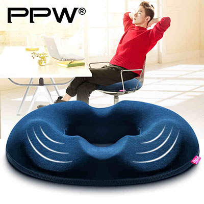 PPW Coccyx Orthopedic Memory Foam Seat Cushion for Chair Car Office Home Bottom Seats Massage Cushion