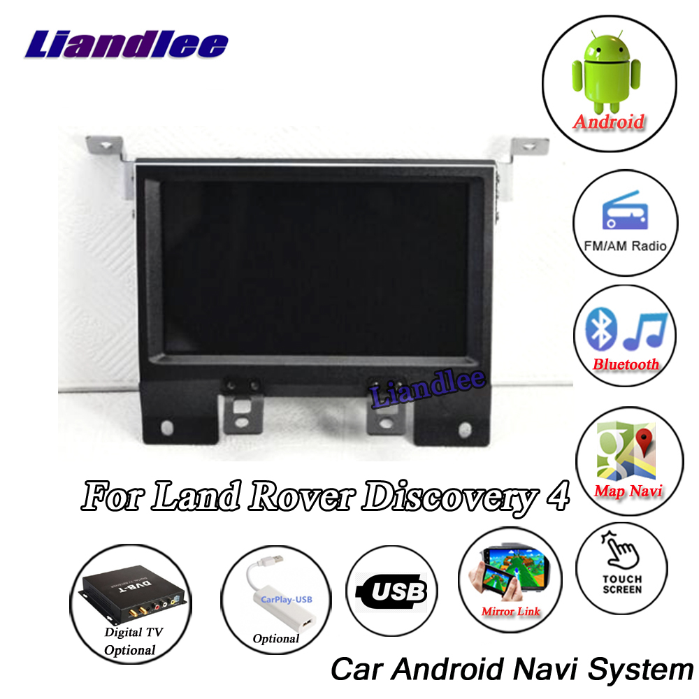 Liandlee Android System For Land For Rover Discovery 4 LR4 L319 2009~2016  Radio Stereo Carplay GPS Nav MAP Navigation Multimedia