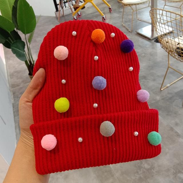 Women winter beanie hat