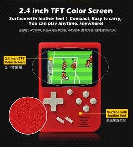 Image 5 - Für gameboy Tasche Handheld Spielkonsole 2,4 zoll 8 bit Eingebaute 129 Spiele Retro Tragbare Spiel Player Unterstützung TV Ausgang