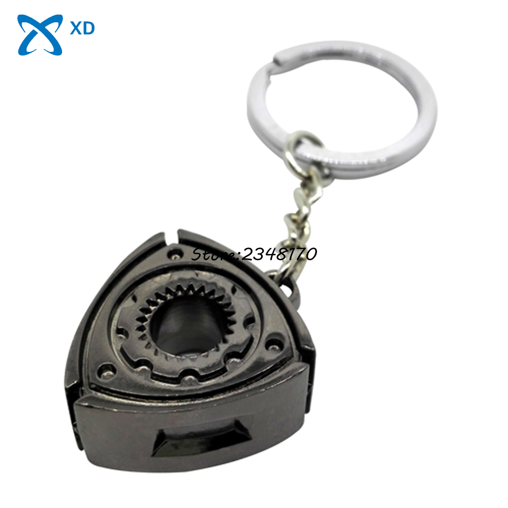 car accessories for mazda rx7 rx8 2 3 6 atenza axela keyring rotary wankel engine rotor keychain turbo parts key chain ring gift [ 1000 x 1000 Pixel ]