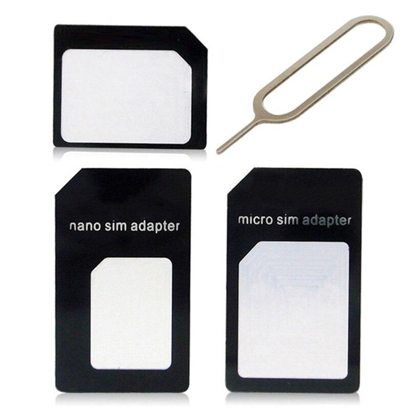 For LG Google Nexus 4 E960/Nexus 5 E980 D821 /K4 Lte K120e K130e Nano Micro Standard Sim Card Adapter abrasive Bar Card Pin