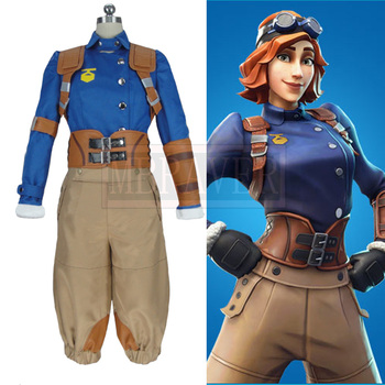 Battle Royale Season 6 Drift Skins Airheart Cosplay Halloween Uniform Cosplay Costume Customize Any Size image
