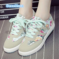 Outdoor Woman canvas flat casual Walking Shoes Super star shoes Hot sale joker Large size 35-42 zapatillas deportivas mujer