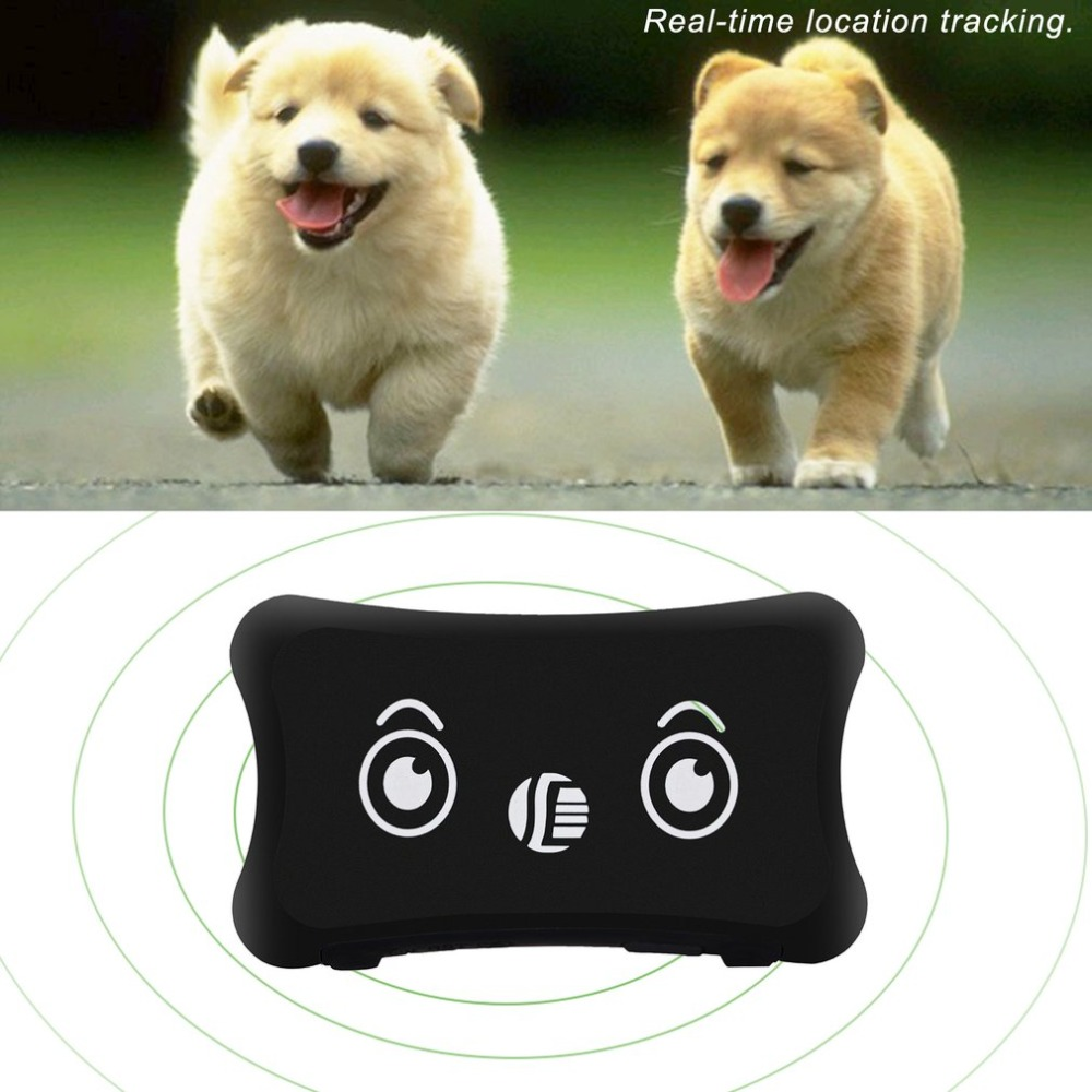 Waterproof Mini GPS Tracker Real Time Locator For Kids Children Pets Cats Animal Dog Collar Tracking GSM GPRS Web Tracking