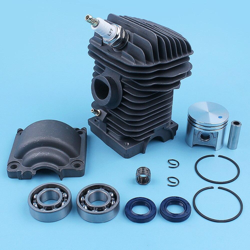 Kit de joint d'huile de roulement de manivelle de goupille de Piston de cylindre de 40mm pour Stihl MS230 MS230C MS210 021 023 MS 230 210 pièces de rechange de tronçonneuse