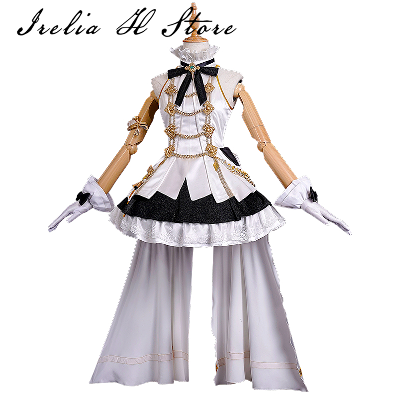 NEW ARRIVE PRICE Final Fantasy XIV Daughter s Day Cosplay costume FF14 Idol cosplay white and