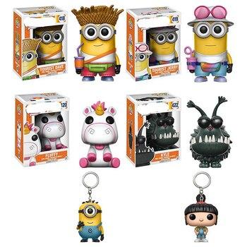 Funko POP Despicable Minions decoration Unicorn Fluffy brinquedos Action Figure toys for children birthday Gift