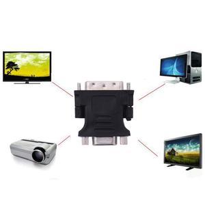 Image 2 - DVI 24 + 5 Dual Link Male To VGA D Sub Female AV Adapter Converter VGA D Sub Female