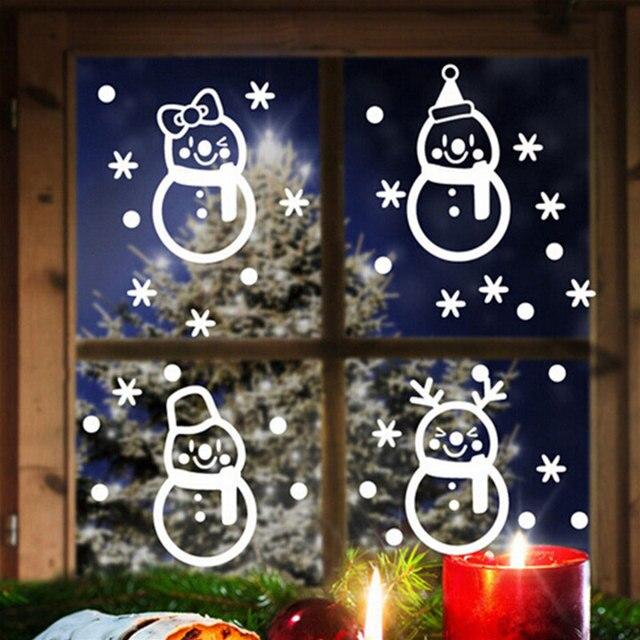 Christmas Glass Door Windows Stickers 6
