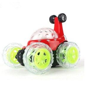 Image 5 - Электрический мини Радиоуправляемый автомобиль с дистанционным управлением, модель каскадеров, мигающий свет, музыка, 360 градусов, дрейф, вращающийся, игрушечный автомобиль, детские игрушки